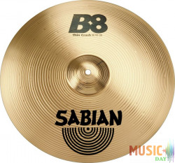 SABIAN 16'' B8 THIN CRASH