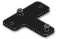 EVE AUDIO Adapter plate for K&M 24471