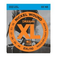 D`ADDARIO EXL110 NICKEL WOUND REGULAR LIGHT 10-46