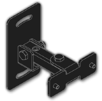 EVE AUDIO Wall Mounting Adapter SC204/SC205 Backside Mounting