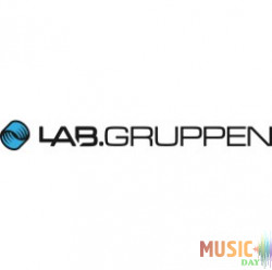 Lab.gruppen Level control with white knob