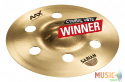 SABIAN 8'' AAX AIR SPLASH BRILLIANT